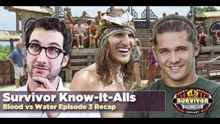 Survivor Blood vs Water Episode 3 Recap | Malcolm Freberg joins Survivor Know-It-Alls