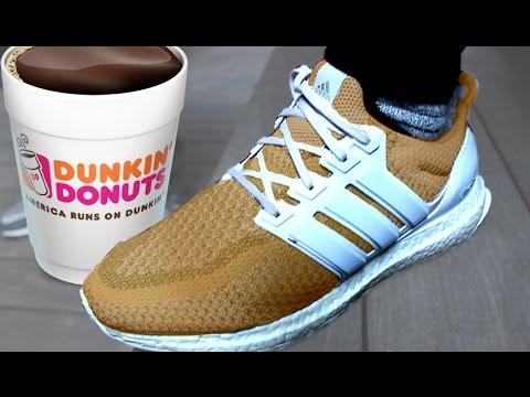 buy online 72621 a2434 10,000 DOLLAR COFFEE ADIDAS ULTRA BOOST ON FEET