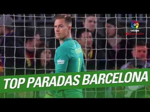 TOP 10 Saves FC Barcelona LaLiga Santander 2016/2017