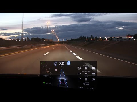 Model X with AP1 test and commentary