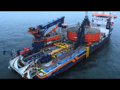 Cable installation for the Gemini Offshore Wind Park