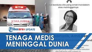 Hormat & Tangis Haru Saat Jenazah Perawat RSUD Soewandhie Surabaya Positif Covid-19 Diantar Ambulans