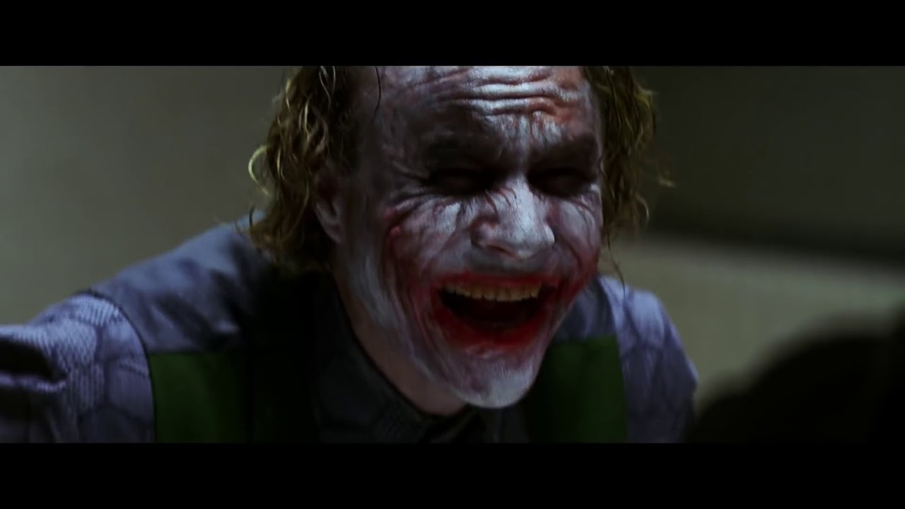 The Joker Laugh - Heath Ledger- Incredible Acting