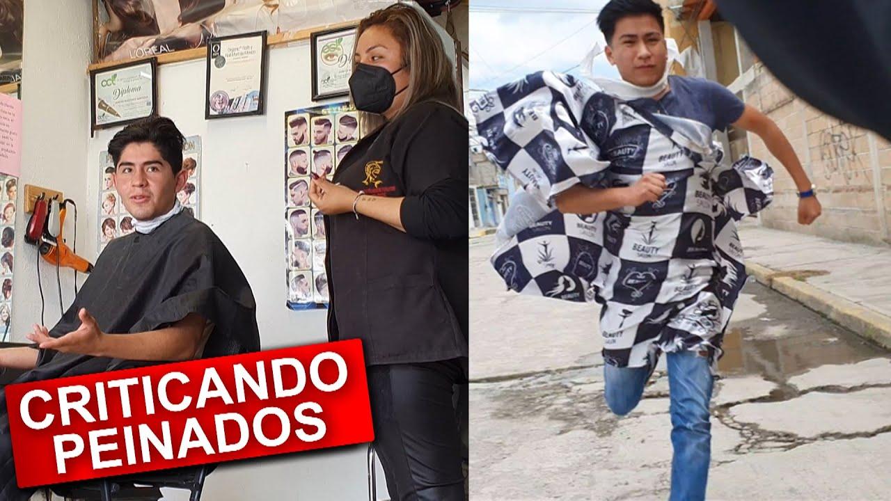 Insultando cortes de Cabello en Barberías (BROMA)