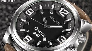 видео Часы Мегир - купить часы Megir, цена в Москве
