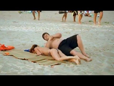 Прикол на пляже - 18 Июня 2014 - Смешное онлайн видео