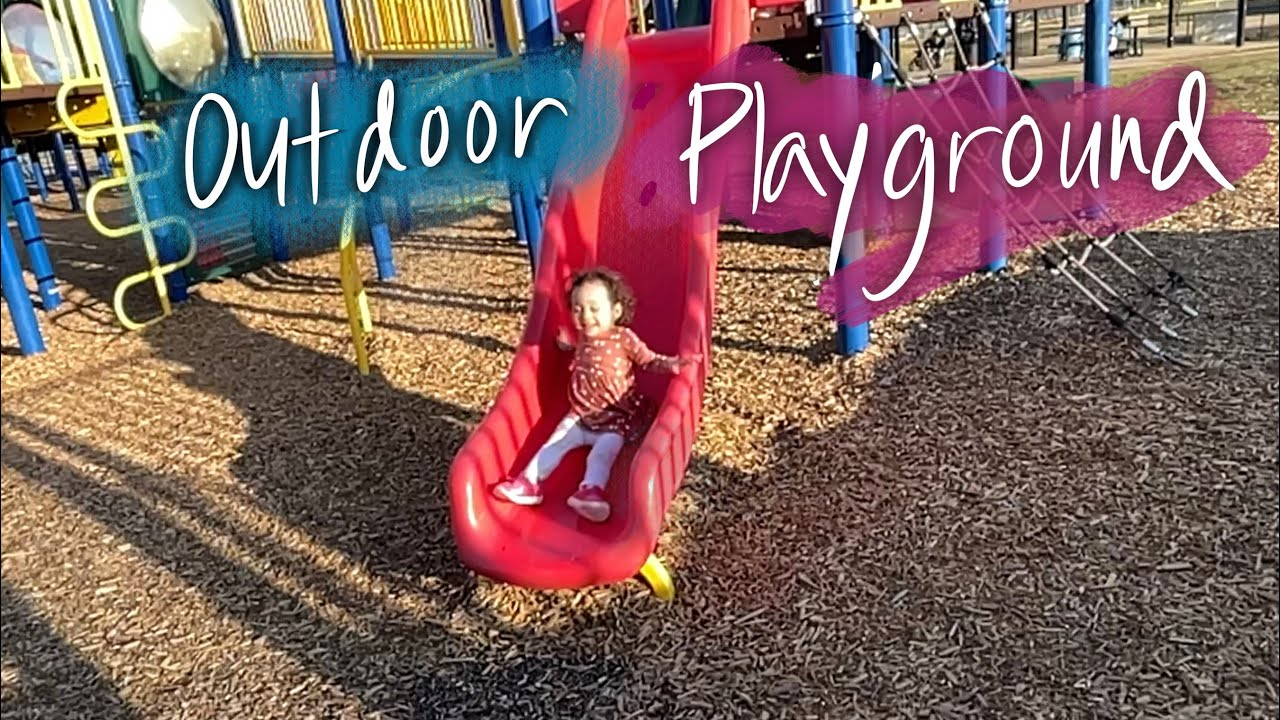 Outdoor Playground | Fun at the Park with Family | Sage's Playtime at the Park | Outdoor Fun