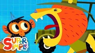 Mr. Lion ' s Horn Zu Leise Ist! | Karikatur Für Kinder