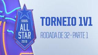 All-Star - Dia 1 | Torneio 1v1 - Rodada de 32 - (Parte 1)