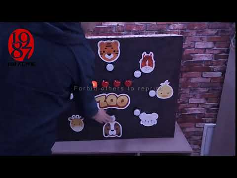Room escape puzzle prop zootopia prop to unlock from JXKJ1987