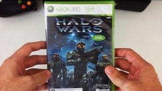 Halo Wars (X360): Unboxing e Vídeo de Apresentação