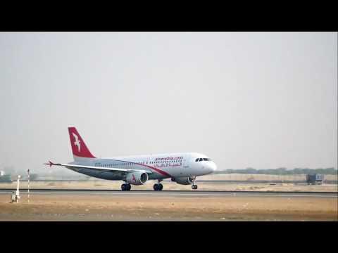 Air Arabia A320 take - off