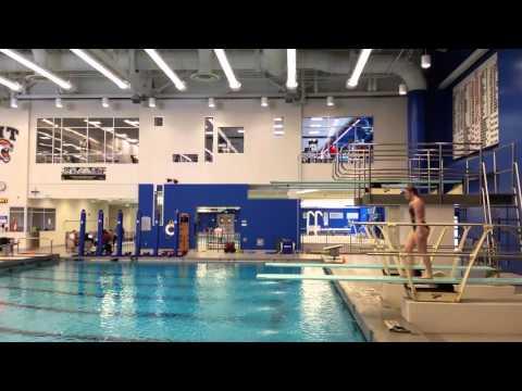 Alexandra (Ali) House diving, 5132D, 1/18/16