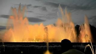 Музыкальный фонтан в Барселоне Испания  07-2016г.(, 2016-07-17T18:29:53.000Z)