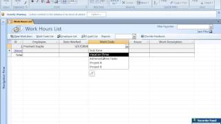The video offers a short tutorial on how to build employee database with ms access.