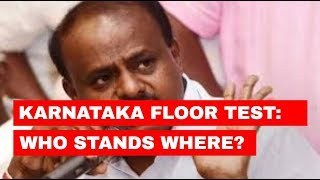 5W1H: Karnataka floor test: Who stands where?