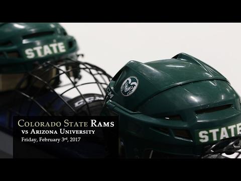 CSU Rams Hockey vs Arizona - Feb 3, 2017