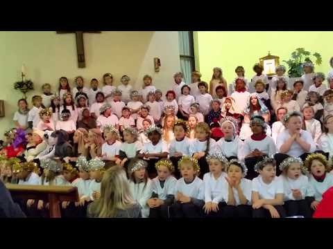 CHRISTMAS CAROL SONG BY HOLY FAMILY JNS CHILDREN DUBLIN