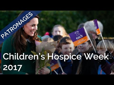 The Duchess of Cambridge's message for #ChildrensHospiceWeek 2017