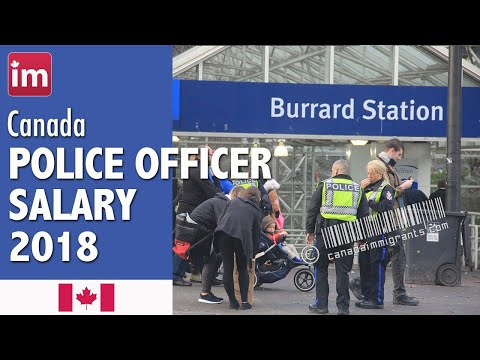 Police Officer Salary In Canada (2018) - Jobs In Canada