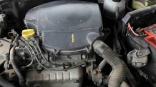 Renault Clio 1,4 - Зависание оборотов