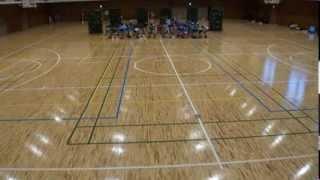 河合第三小は単独での全国大会は初めて。1~3年生はダンス演技、4~6...