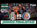 Resumen y goles y goles | México (5)-(4) Costa Rica | Nations League Semifinal | TUDN