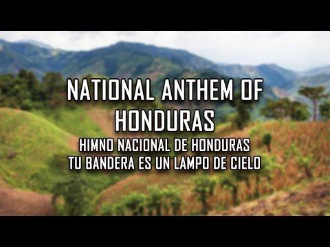 National Anthem of Honduras - Tu Bandera es un lampo de cielo (Your flag is a splendor of sky)