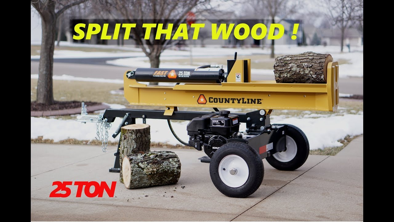 CountyLine 25-Ton Log Splitter - Tractor Supply