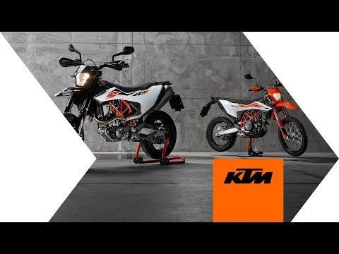 Street or Dirt? The KTM 690 SMC R & KTM 690 ENDURO R media launch - event video | KTM