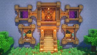 Minecraft: How to Build a Mountain Base | Survival Mountain Base Tutorial