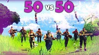 50 vs 50! - NEUER MODUS in Fortnite Battle Royale