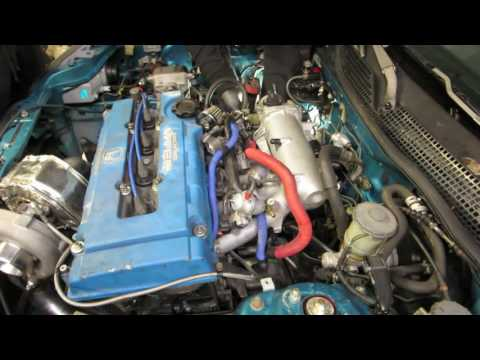 TURBO B20 VTEC engine swap EG civic HSG EP. 4-06