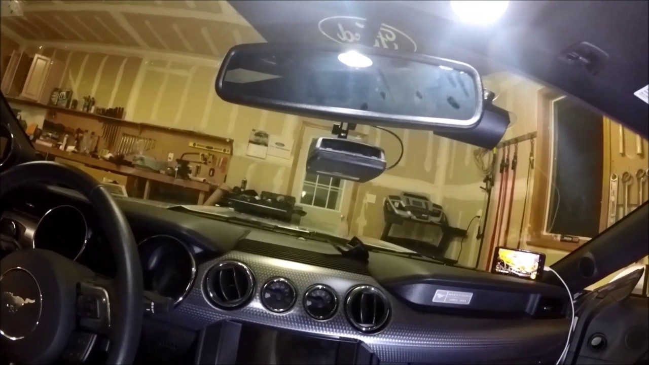 Escort Redline Radar Detector >> Hard wire Escort Redline radar detector in my S550 Mustang GT install - YouTube