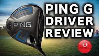 NEW PING G DRIVER REVIEW