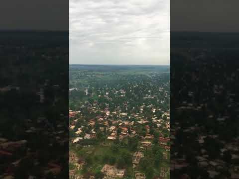 Landing in Bangui - Central African Republic
