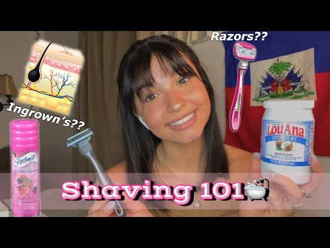 """How To Shave """"DOWN THERE""""😽 Tricks And Tips 