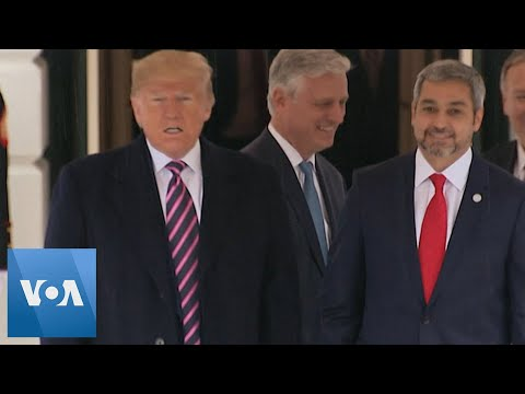 Trump Welcomes Paraguay
