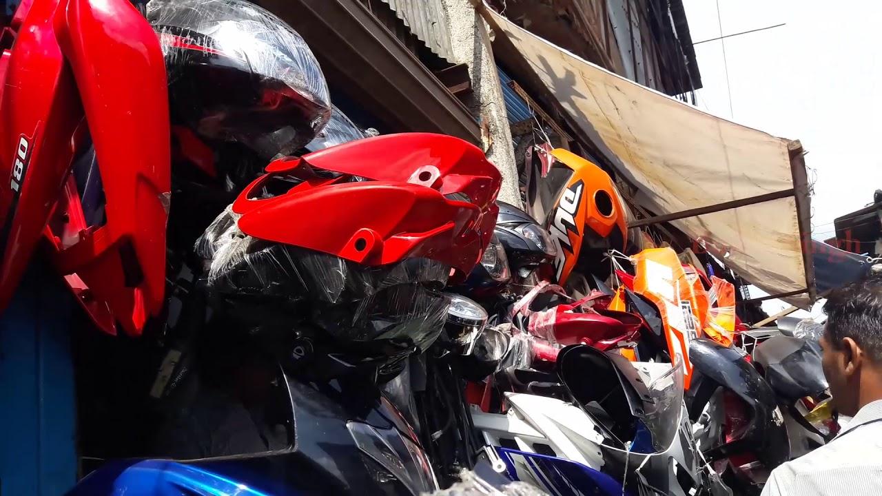 Chor Bazaar In Mumbai Kurla All Bike Spare Parts Bullet Singh Boisar