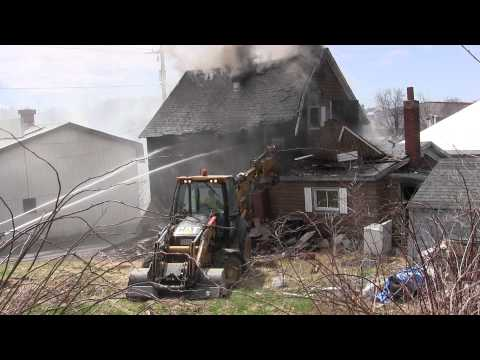 Springhill House Fire and Demolition