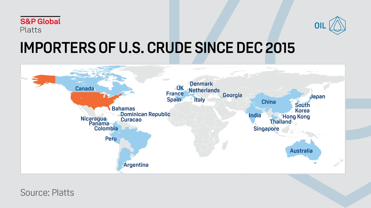 Taiwan set to import first cargo of US Gulf Coast crude | S&P Global Platts
