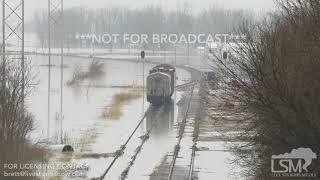 03-19-19 Bellevue, NE - Missouri River Flooding - Structures Under Water
