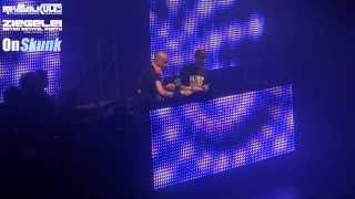 Charly Lownoise & Mental Theo LIVE@Ziegelei Retro Revival Rave (02.10.13) FULL VIDEO [HQ]