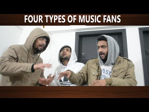 Four Types of Music Fans