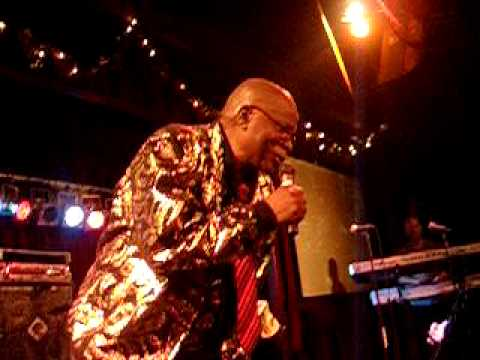 "Mighty Sparrow live in NYC Jan-2009- ""Saltfish"""