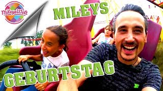 MILEYS 9. GEBURTSTAG im Schwabenpark - Action statt Feier | Mileys Welt