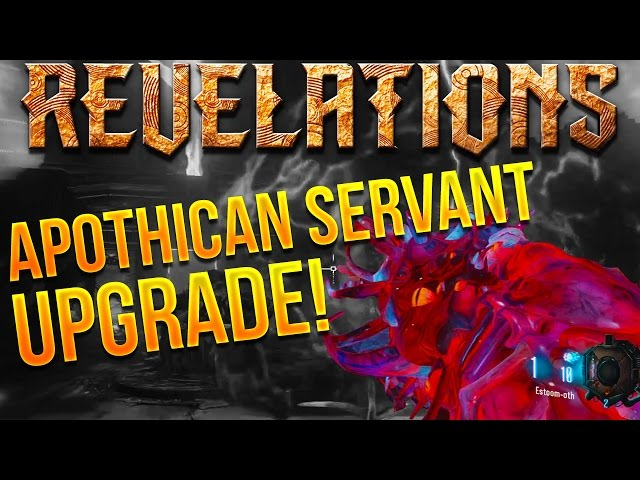 BLACK OPS 3 ZOMBIES REVELATIONS APOTHICAN SERVANT UPGRADE TUTORIAL! (Wonder Weapon Pack A Punch)