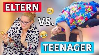 ELTERN vs. TEENAGER | Verrückte Situationen die JEDER kennt | Annaxo 2016