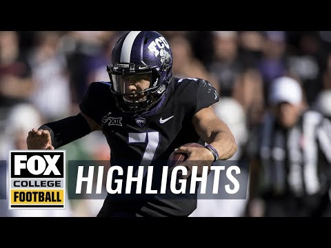 TCU vs Baylor | Highlights | FOX COLLEGE FOOTBALL