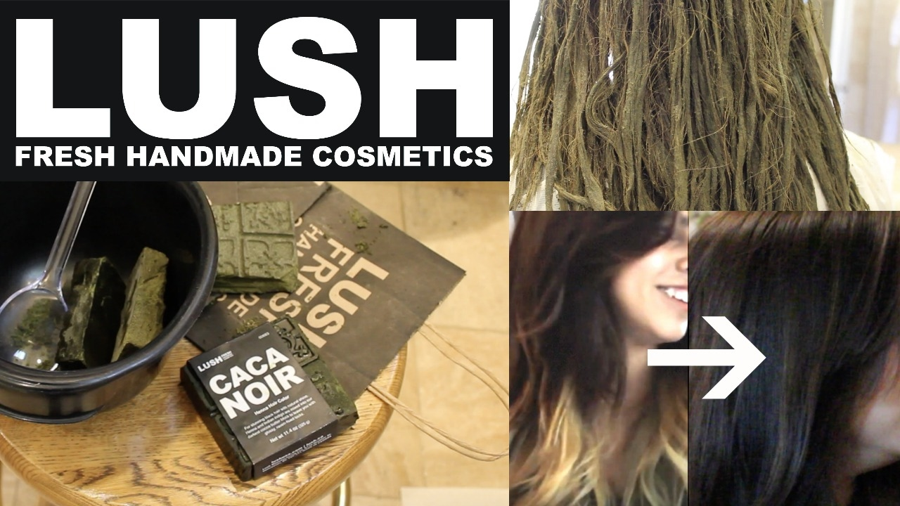 Lush Henna Hair Dye On Ombre Hair Tutorial Review Youtube